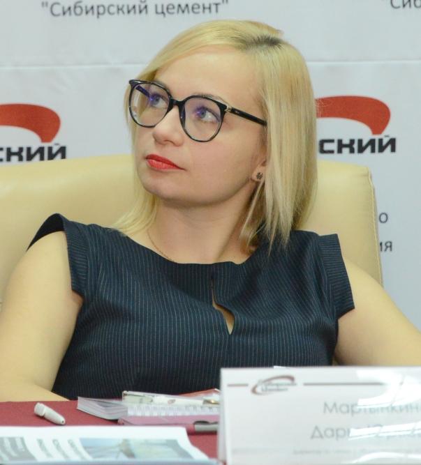 Мартынкина Дарья Юрьевна